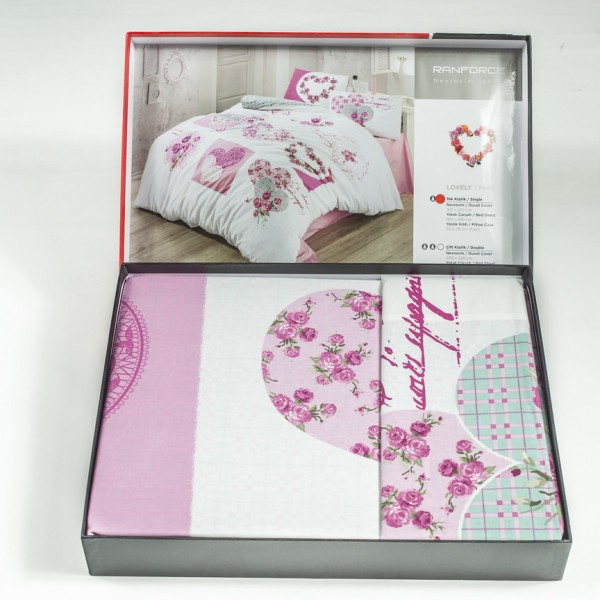 Дизайнерско спално бельо Romance - Ранфорс
