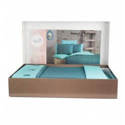 Елитен спален комплект Secret Blue - Ранфорс