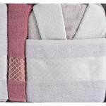 LUX комплект халати и кърпи Соня - 100% памук