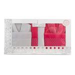 LUX комплект халати и кърпи Едит - 100% памук