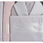 LUX комплект халати и кърпи Дорис - 100% памук