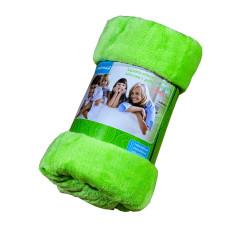 Меко и топло одеяло Зелена ябълка