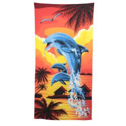Детска кърпа за плаж Залез