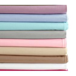 Долен чаршаф в различни цветове - Ранфорс