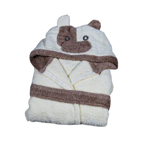Памучен детски халат Кравичка