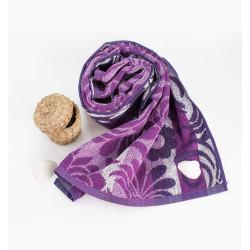 Практична кърпа за ръце и лице - 100% памук Лилава