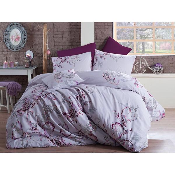 Модернистичен спален комплект от фин памук Денерис
