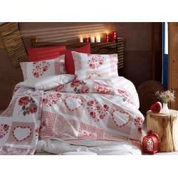 Модернистичен спален комплект от фин памук Джени-Роуз