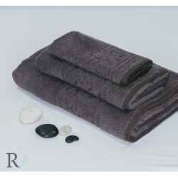 Памучна хавлиена кърпа Шоко 2