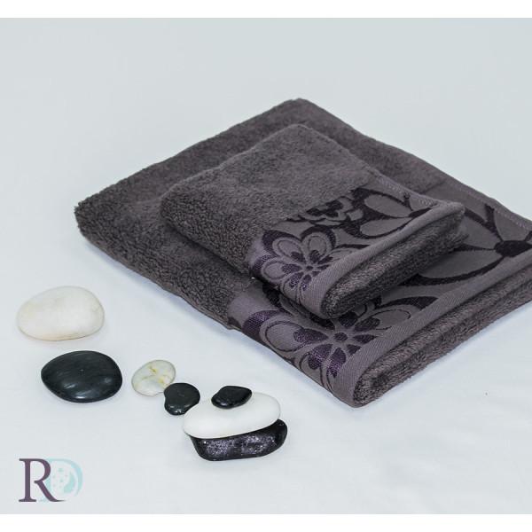 Памучна хавлиена кърпа Шоко