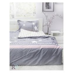 Памучен спален комплект за тийнейджъри Сребърна Сузи