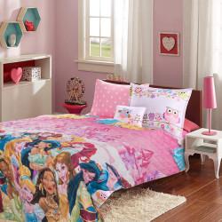 Детско покривало за легло Красавици от приказките