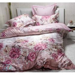Спален комплект от сатениран памук Фиора Лилава