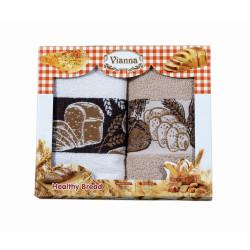 Сет хавлиени кърпи за кухня - Хляб