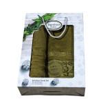Луксозен комплект хавлиени кърпи от бамбук - Даяна