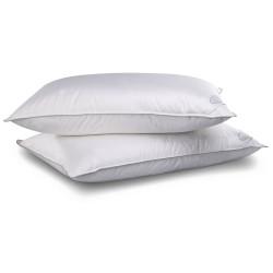 Комфортна възглавница с естествен пълнеж - бяла